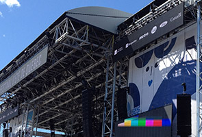 New Stage for the Festival d'été de Québec